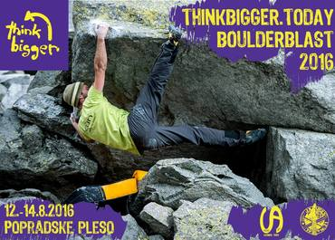 THINKBIGGER.TODAY Boulderblast 2016